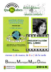 Presentación libro Inmaculada López_CARTEL2