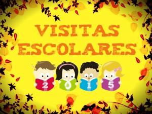 Cartel Visitas escolares - 2015