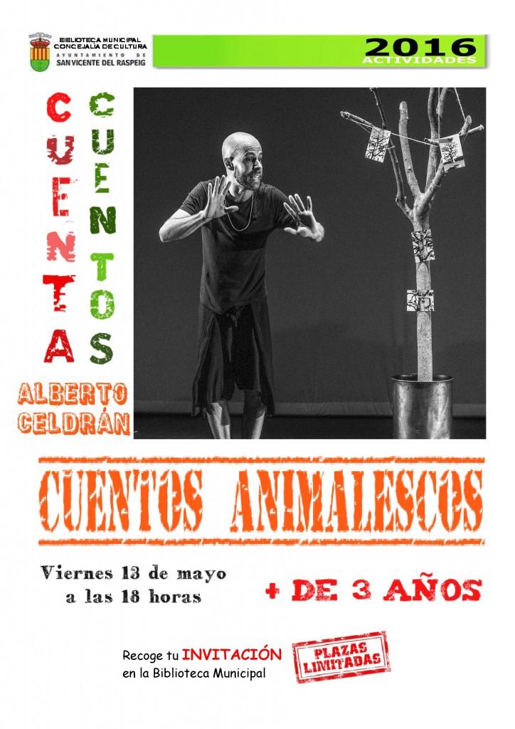Cuentacuentos ALBERTO CELDRÁN_CARTEL