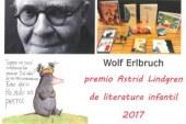 Wolf Erlbruch, Premio Astrid Lindgren de Literatura Infantil 2017