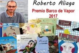 Roberto Aliaga ganador del Premio Barco de Vapor 2017