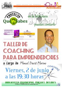 "Taller de coaching para emprendedores @ Biblioteca Pública Municipal ""Miguel Delibes"" | Sant Vicent del Raspeig | Comunidad Valenciana | España"