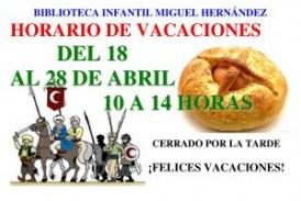 Horario de Semana Santa y Fiestas Patronales