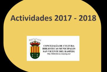 Actividades 2017-2018