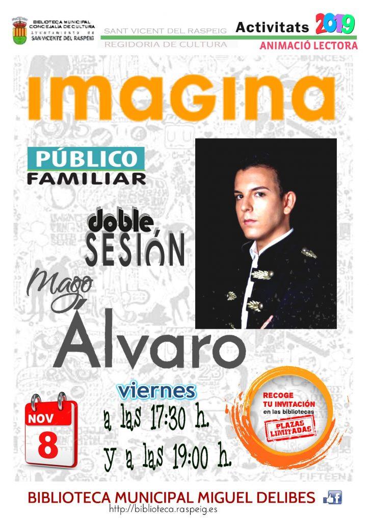 Magia para toda la familia: «Imagina» @ Biblioteca Municipal Miguel Delibes