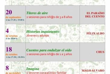 Programación de Actividades en la Biblioteca Municipal Miguel Delibes – Cuarto Trimestre 2019