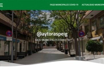 Nueva web del ayuntamiento de San Vicente del Raspeig con información sobre la covid-19