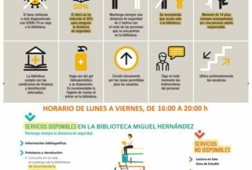 Reapertura de la Biblioteca Infantil Miguel Hernández