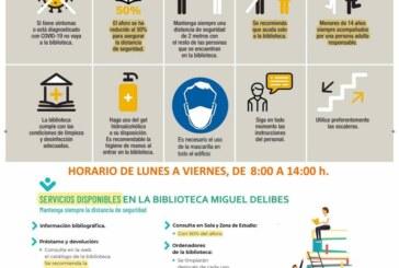 Horario de verano de las Bibliotecas Municipales de San Vicente del Raspeig