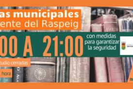 Nuevas medidas para garantizar la seguridad en las Bibliotecas Municipales como consecuencia del agravamiento de la situación de la crisis sanitaria ocasionada por la COVID-19.
